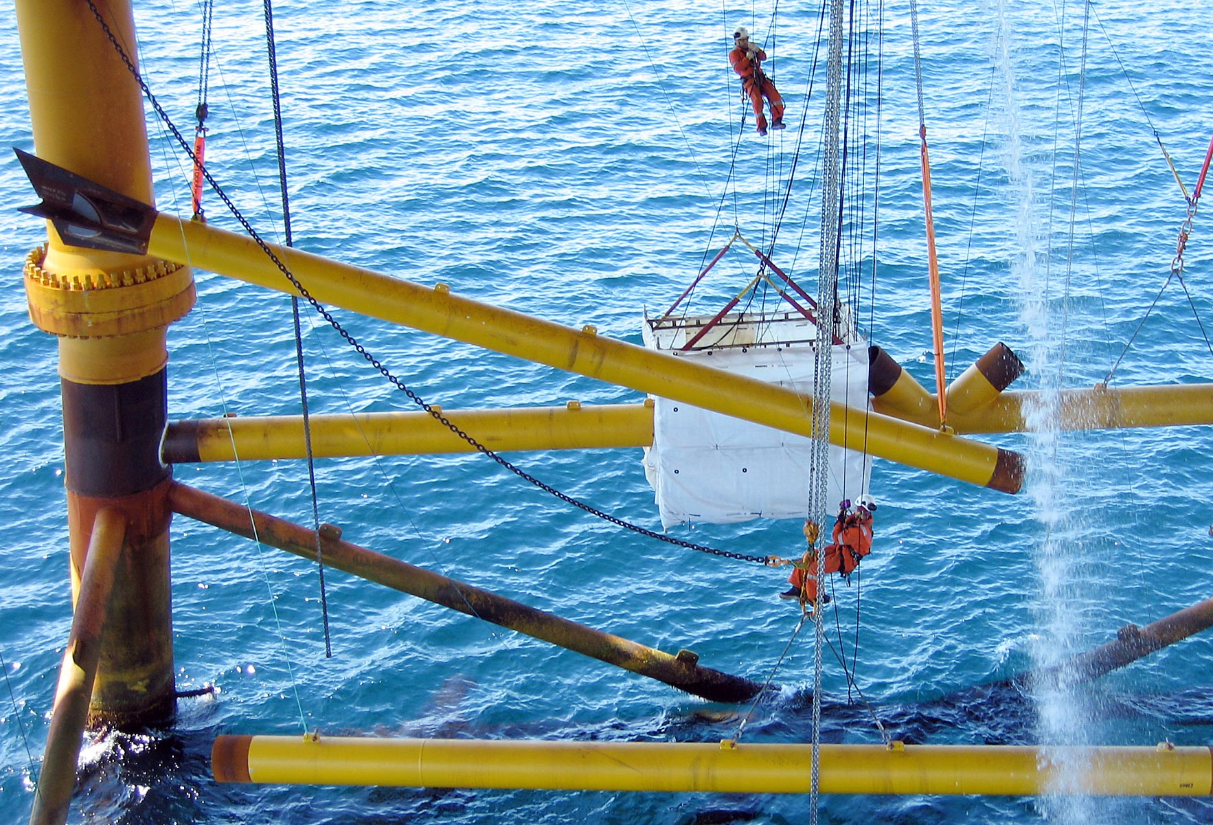 Linjebygg rigging rope access